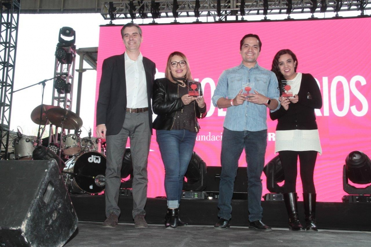 PREMIACIÓN VOLUNTARIOS 2017 CORPORATIVO